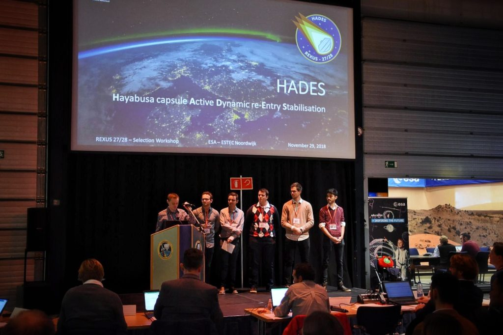 The HADES Team during Selection Workshop